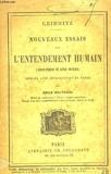 Nouveaux essais sur l'entendement humain - Librairie Poussielgue frères