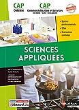 Sciences appliquées - CAP Cuisine & CAP Commercialisation et Services en HCR