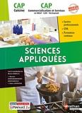 Sciences appliquées - CAP Cuisine/CAP Commercialisation et services en HCR 1/2 Livre + licence élève - CAP Cuisine & CAP Commercialisation et Services en HCR