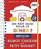 On fait quoi pour le dîner au robot-cuiseur ? spécial petits budgets 2021-2022