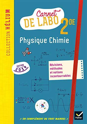 Physique chimie 2de