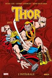 Thor - L'intégrale 1971 (T13) de Stan Lee