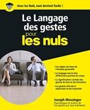 Le Langage des gestes Pour les Nuls - Format Kindle - 15,99 €
