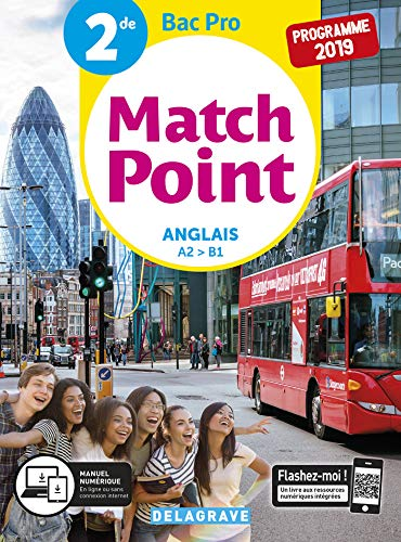 Match Point Anglais 2de Bac Pro (2019)