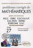 Mathématiques HEC 2006-2007 - Tome 27 (option scientifique)