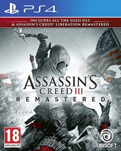 Assassin's Creed III + Liberation Remaster - Remaster PS4 - Import anglais jouable en français