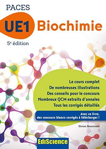 PACES UE1 Biochimie