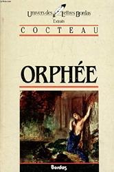 COCTEAU/ULB ORPHEE (Ancienne Edition) de Jean Cocteau