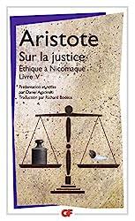 Sur la justice - (Éthique à Nicomaque, livre V) d'Aristote