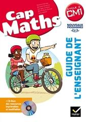 CAP Maths CM1 Éd. 2017 - Guide pédagogique + CD-Rom de Roland Charnay