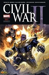 Civil War II n°1 (couverture 2/2) de Brian Michael Bendis