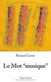 """Le mot """"musique"""" - Chez l'auteur - 01/01/2018"""