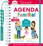 Agenda familial Mémoniak 2019-2020 - Editions 365 - 07/06/2019