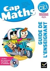Cap Maths CE1 éd. 2016 - Guide de l'enseignant + CD Rom de Marie-Paule Dussuc