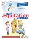 Manuel d'équitation pour les enfants - Préparation aux Galops 1 à 4