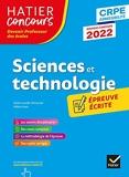 Sciences et Techno - CRPE 2022 - Epreuve écrite d'admissibilité