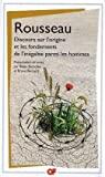 DISCOURS SUR L'ORIGINE ET LES FONDEMENTS DE L'INÉGALITÉ PARMI LES HOMMES - FLAMMARION - 01/09/2008