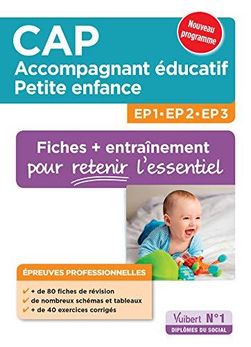 CAP accompagnant éducatif Pte enfance EP professionnelles 80 fiches EP1 2 3