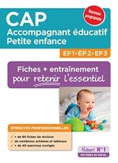 CAP accompagnant éducatif Pte enfance EP professionnelles 80 fiches EP1 2 3 de Valerie Jacob