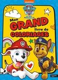 Pat' Patrouille-Mon grand livre de coloriages NED