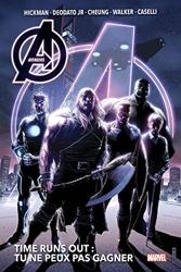 Avengers - Time Runs Out T01 - Tu ne peux pas gagner de Valerio Schiti