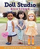 Doll Studio Boutique - Sew a Wardrobe - 46 Garments & Accessories for 14 Dolls