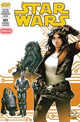 Star Wars N°1 (couverture 2/2) de Kieron Gillen