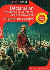 Déclaration des droits de la femme et de la citoyenne d'Olympe de Gouges