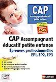 CAP Accompagnant éducatif petite enfance - CAP Accompagnant Educatif Petite enfance -2019