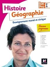 Histoire-Géographie-EMC - 1re BAC PRO d'Annie Couderc