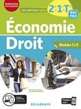 Économie-Droit 2de, 1re, Tle Bac Pro (2020) Pochette élève
