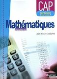 Mathématiques - CAP Tertiaire - Groupement C de Jean-Michel Lagoutte (28 avril 2010) Broché - 28/04/2010