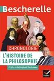 Bescherelle Chronologie de l'histoire de la philosophie - De l'Antiquité à nos jours - Hatier - 02/10/2019