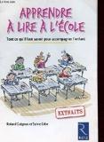 APPRENDRE A LIRE A L'ECOLE - RETZ - 01/01/2000