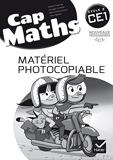 Cap Maths CE1 éd. 2016 - Matériel photocopiable - Hatier - 25/05/2016