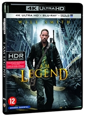 Je suis Une légende [4K Ultra HD + Blu-Ray + Digital Ultraviolet] [4K Ultra HD + Blu-ray + Digital UltraViolet]
