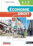 Economie Droit BAC PRO 2E/1re/Term (Multi'Exos) Livre + licence élève - 2019 - 2de/1re/Tle Bac Pro