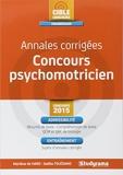 Annales corrigées concours psychomotricien: 2015