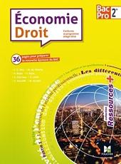 Ressources plus - ECONOMIE-DROIT - 2de BAC PRO de Jean-Charles Diry