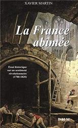 LA FRANCE ABIMEE (poche) de Xavier Martin