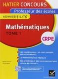 Concours professeur des écoles 2015 - Mathématiques Tome 2 - Epreuve écrite d'admissibilité de Michel Mante (16 juillet 2014) Broché - 16/07/2014