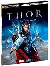 Thor God of Thunder Official Strategy Guide de BradyGames