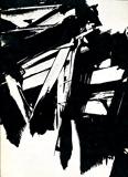 L'atelier de Soulages , Mars 1960 - Reportage photographique Izis - Exposition à la Galerie de France, Paris, du 17 mai au 12 juin 1960 - Edition originale numérotée - Photographies de Bonhotal, Delagenière, Maywald