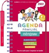 Agenda familial Mémoniak 2021-2022 d'Editions 365