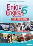 New Enjoy English 6e - Coffret 2 DVD classe