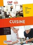 Cuisine - CAP Cuisine 1ère/2ème années 2021 + Licence numérique