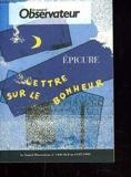 Lettre Sur Le Bonheur - Le Nouvel Observateur - 01/01/1993