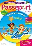 Passeport - De la Petite à la Moyenne section - Cahier de vacances 2021