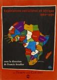Expériences socialistes en Afrique : 1960-1990