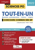 Sciences Po - Tout-en-un - Questions contemporaines - Histoire - Langue vivante - Tout pour réussir - Concours commun IEP (Réseau ScPo) 2022 (2021)